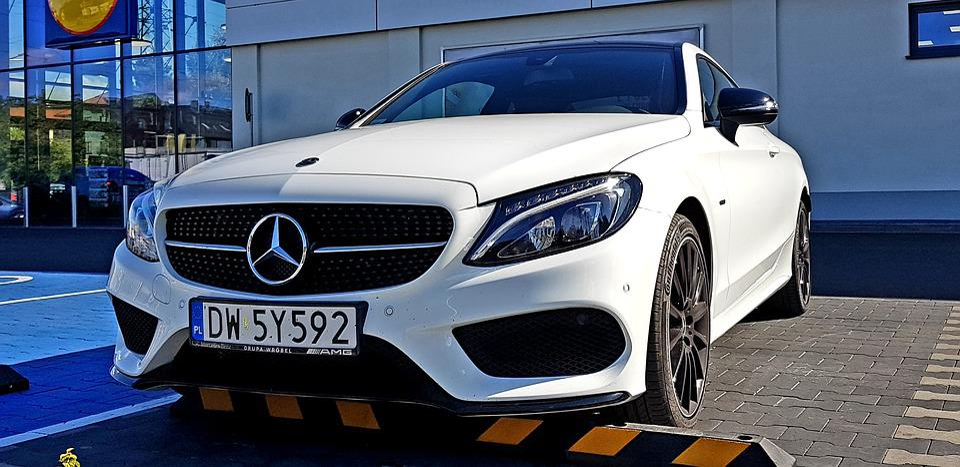 Mercedes, C Class, 200, Merc, White
