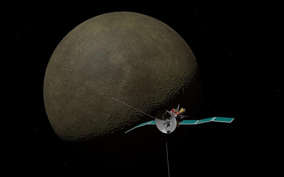 Mercury, Planet, Solar System, Space Travel, Landing