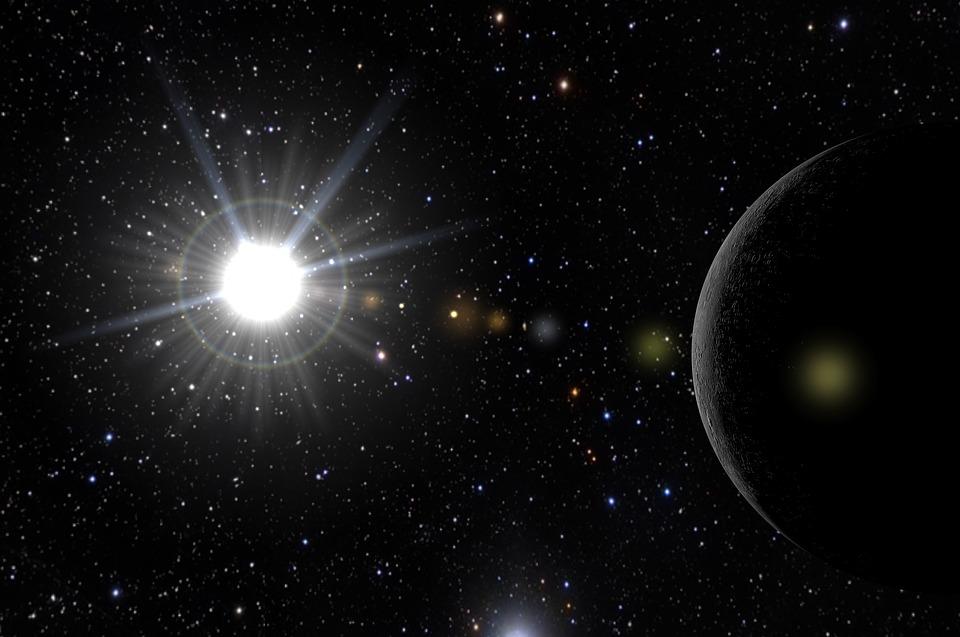 Sun, Mercury, Cosmos, Star, Solar System