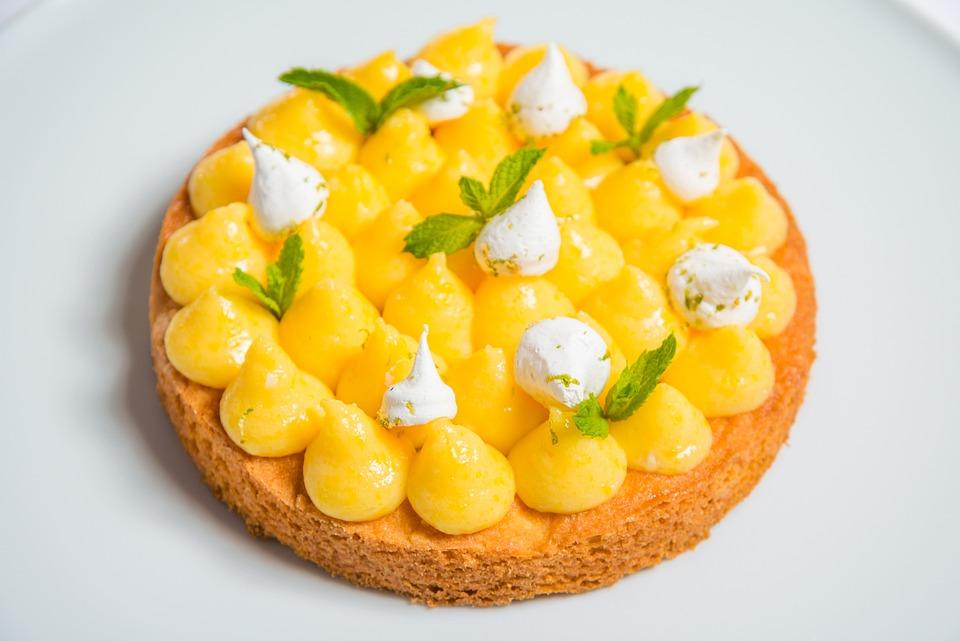 Lemon, Tarte, Meringue