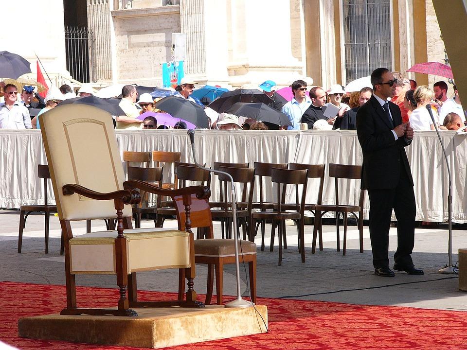Rome, The Vatican, Mesa, Religious Service