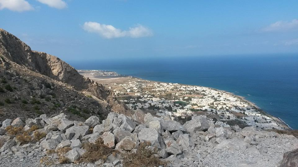 Kamari, Santorini, Mesa-vouno