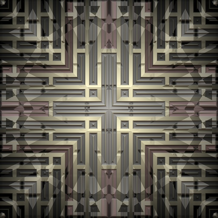 Background, Texture, Seamless, Metal, Grid