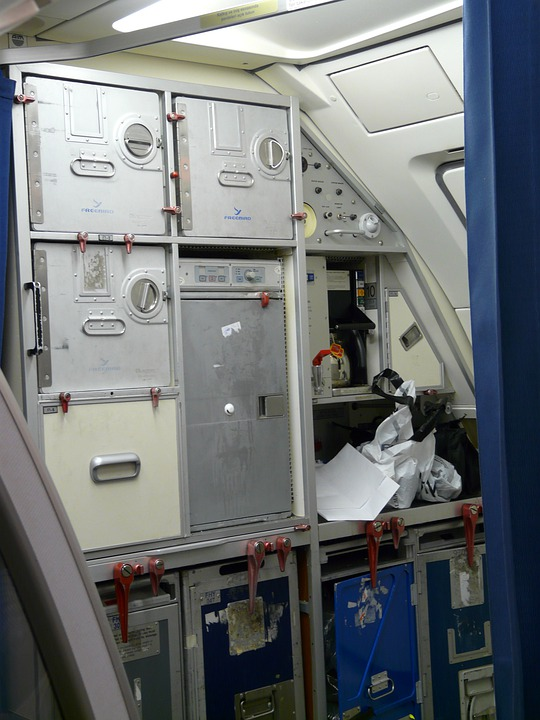 Aircraft, Storage Space, Container, Metal Boxes, Metal