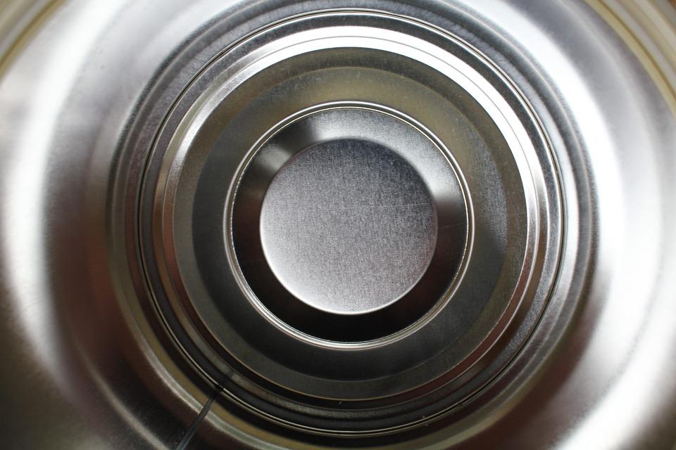 Tin, Can, Circles, Metal, Container, Metallic