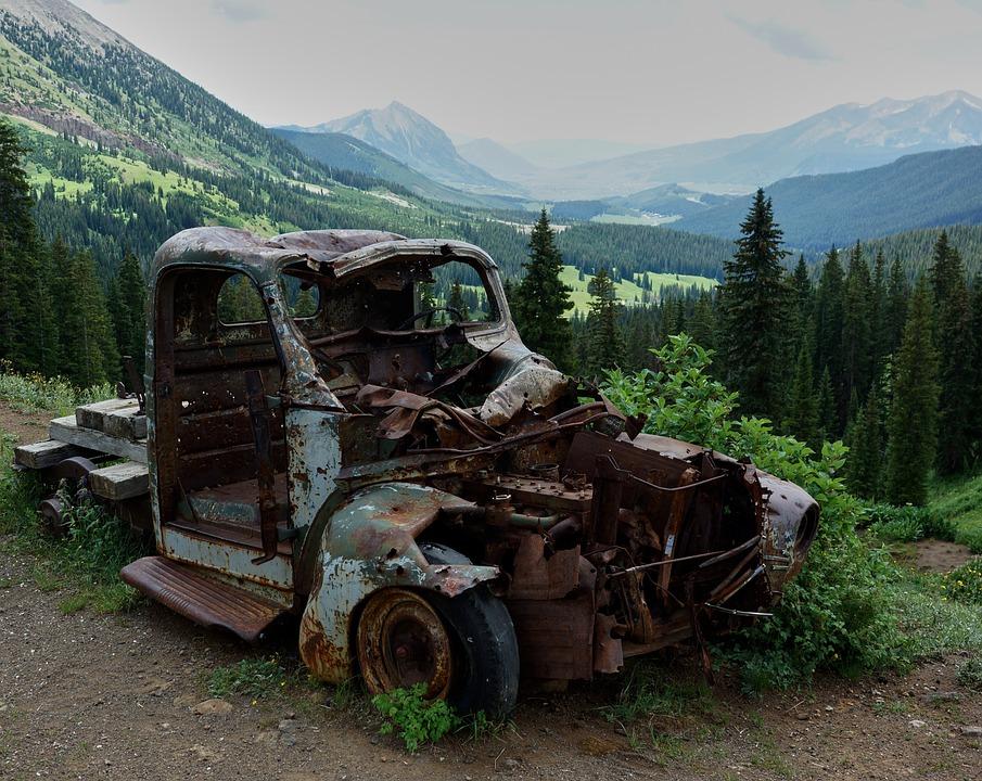 Free photo Metal Car Rust Old Broken Junk Vehicle Abandoned - Max ...