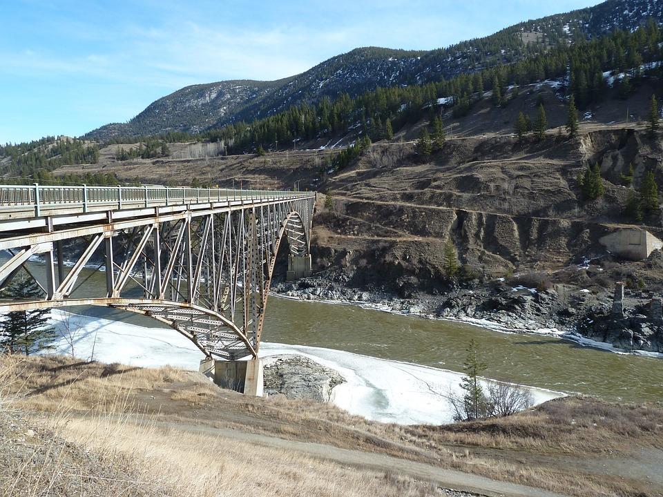 Bridge, Metal Construction, Overpass, Steel