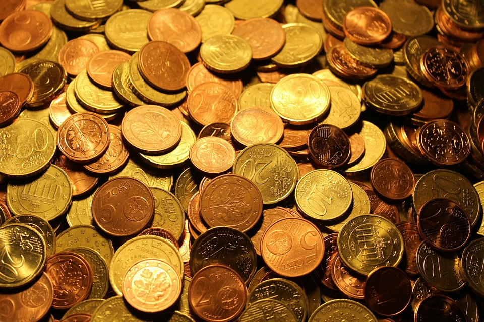 Money, Coins, Euro Coins, Currency, Euro, Metal
