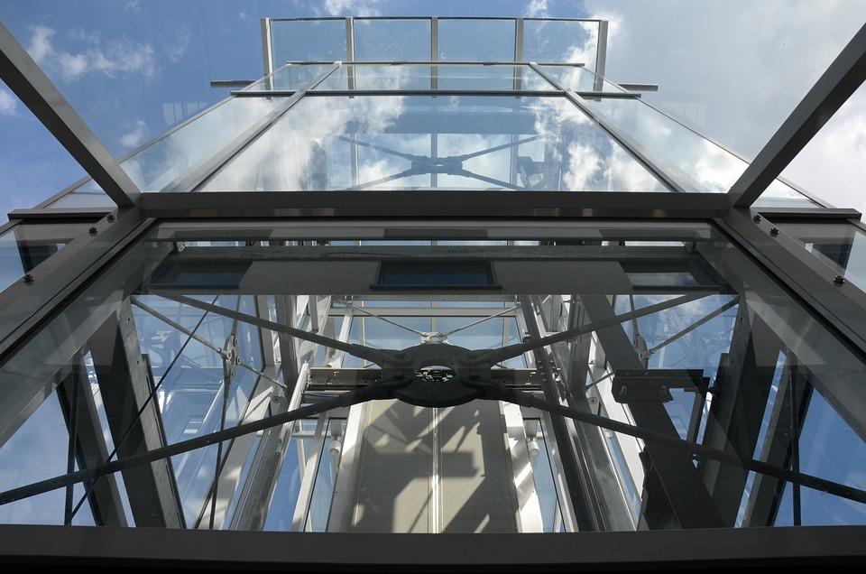 Transport, Elevator, Technology, Construction, Metal