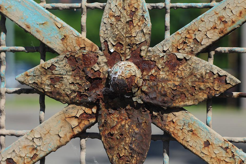 Fencing, Rust, The Fence, Metal