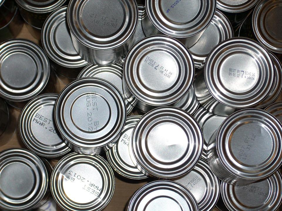 Tin Cans, Food, Tin, Can, Canned, Metal, Grocery