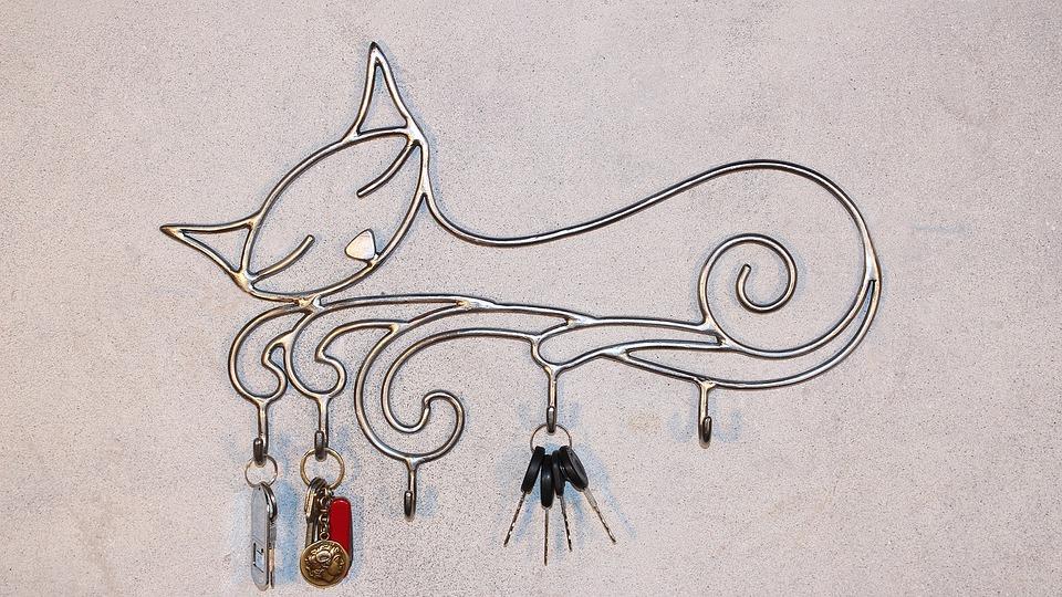 Key Hanger, Hanger, Forging, Metal