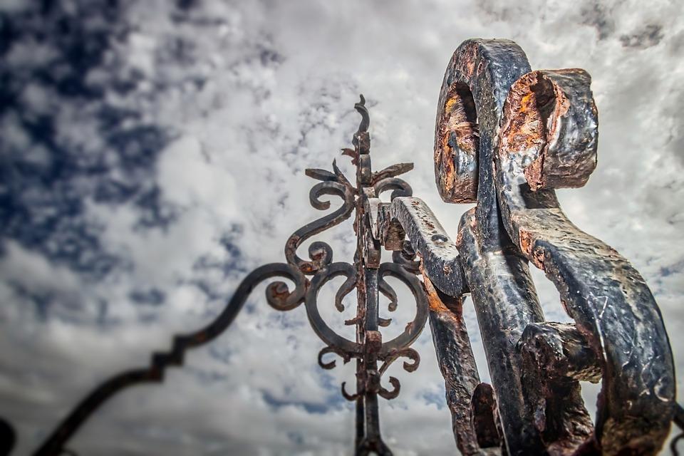 Iron, Decoration, Design, Metal, Antique, Vintage