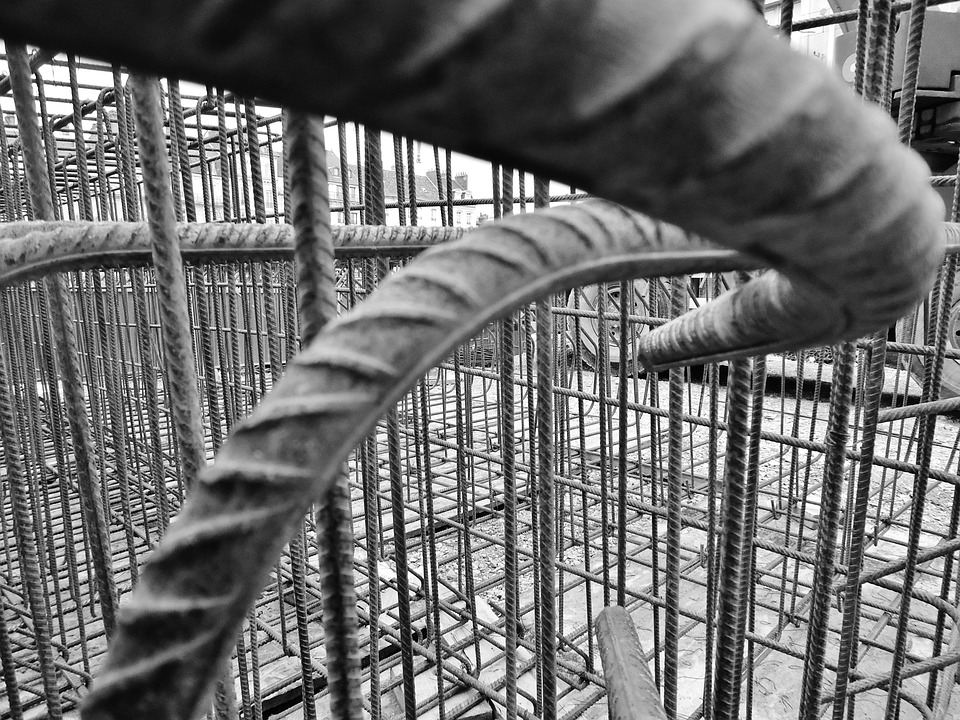 Work, Metal, Iron, Tram, Besançon, Structure
