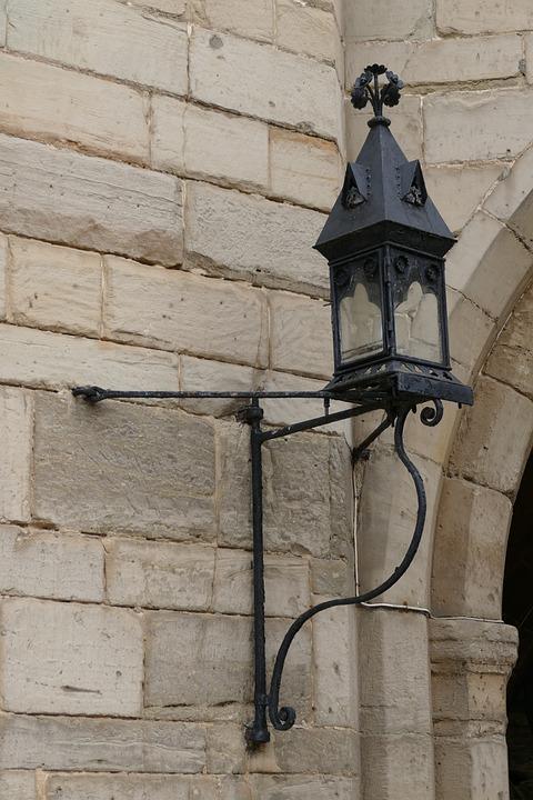 Iron, Lamp, Light, Old, Vintage, Metal, Lantern