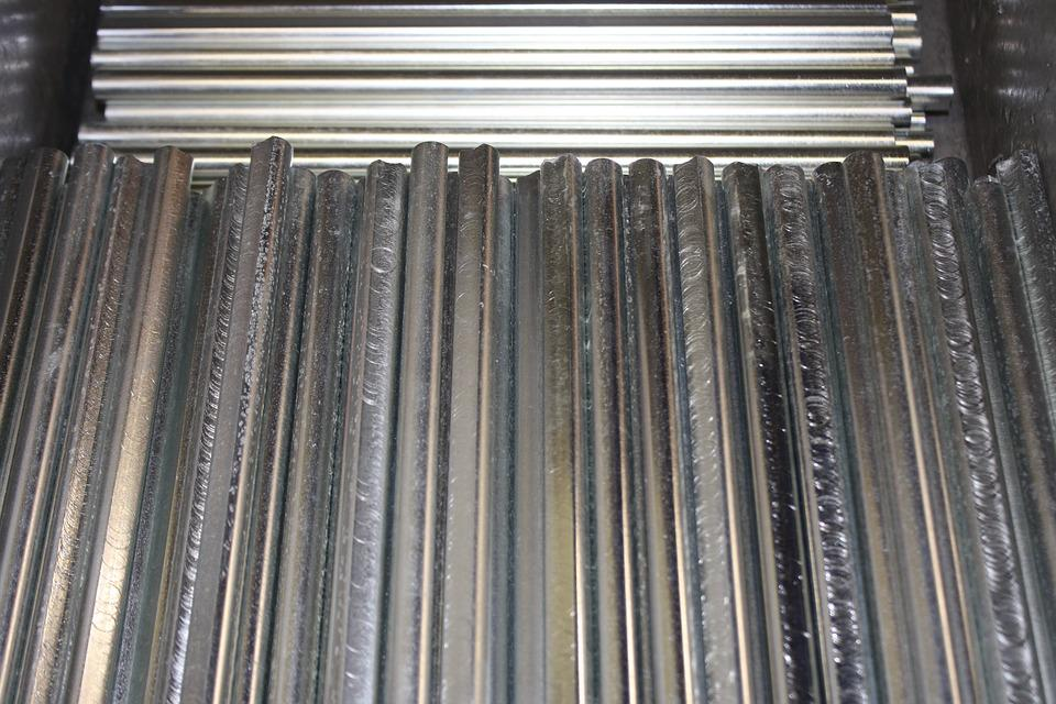 Parts, Steel, Industry, Metal, Manufacturing, Factory