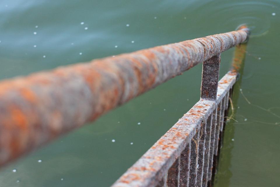 Oxide, Metal, River, Nature, Old, Metallic, Rusty
