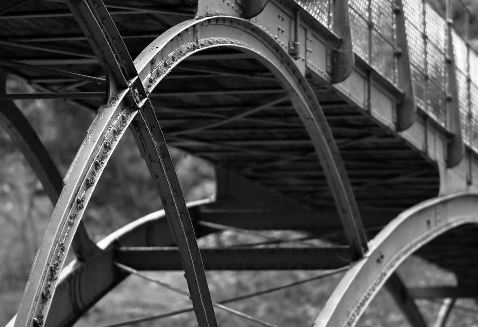 Cragside, Bridge, Metal, National Trust, Architecture