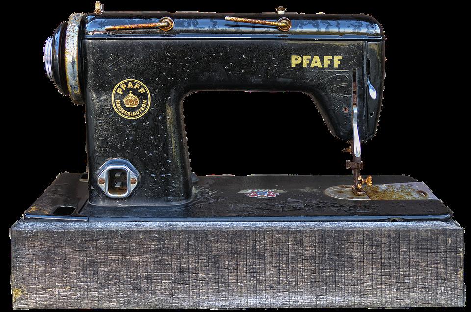 Sewing Machine, Rusty, Old, Old Sewing Machine, Metal