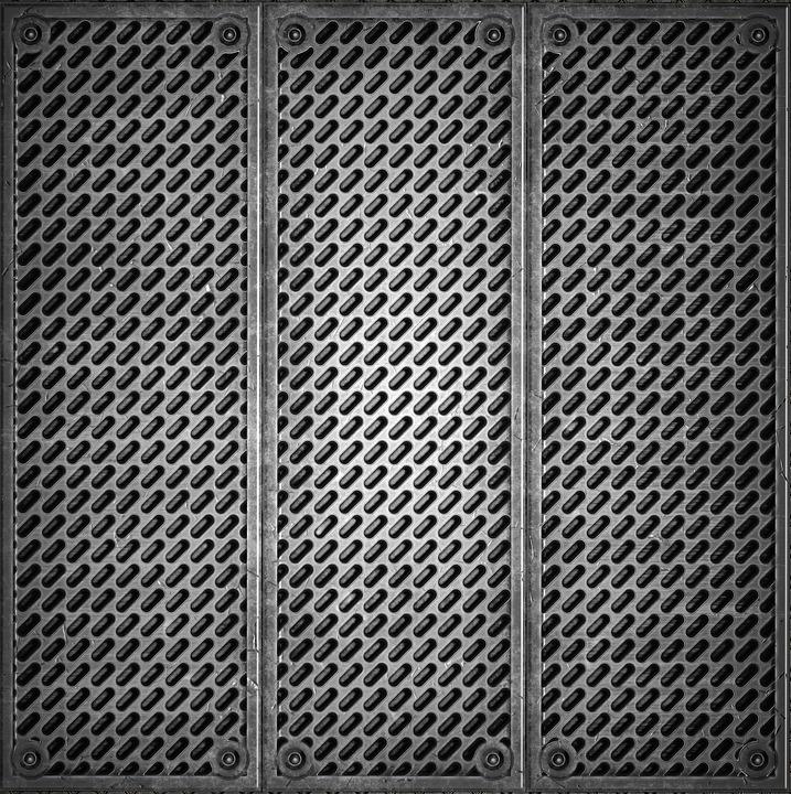Texture, Metal, Panel
