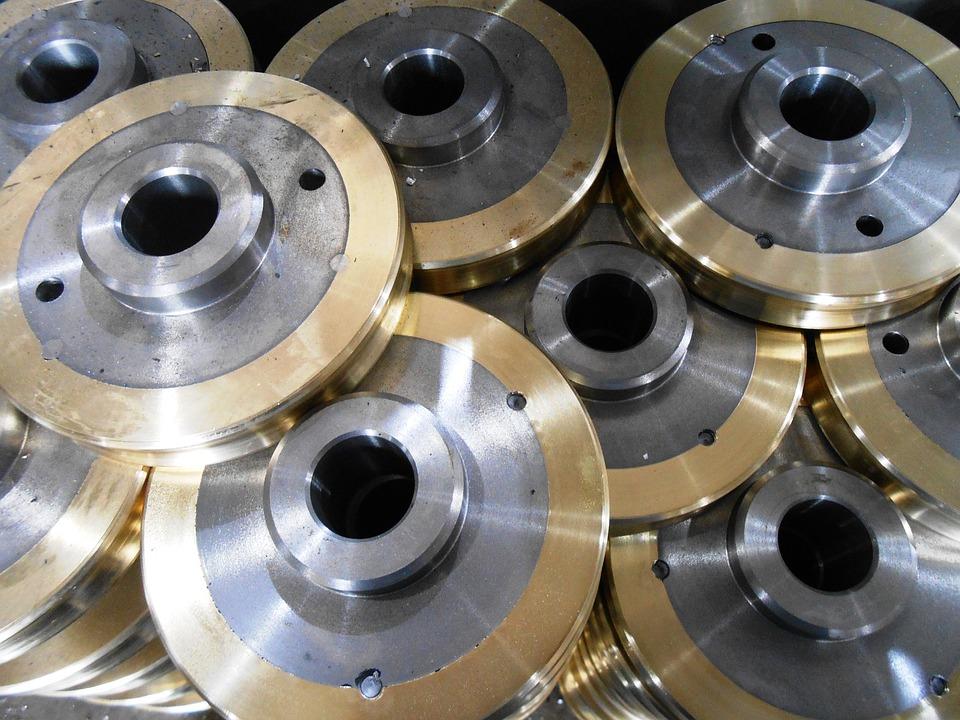 Parts, Metal, Gold