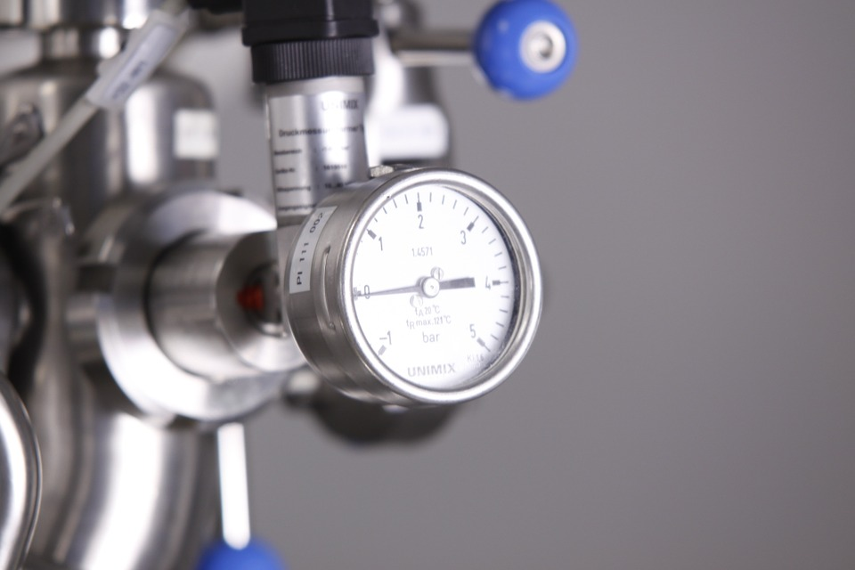 Pressure Gauge, Pressure Display, Measure, Ad, Metal