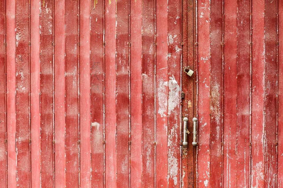 Gate, Metal, Lock, Door, Old, Rusty, Closed, Antique
