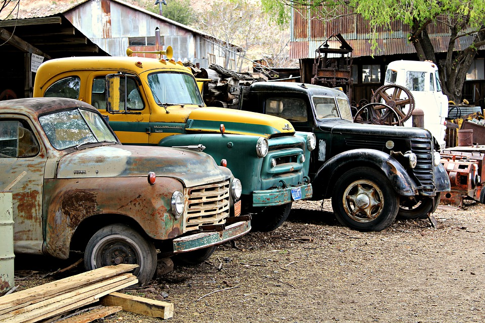 Free photo Metal Rusty Old Cars Vehicle Classic Car Classic - Max Pixel