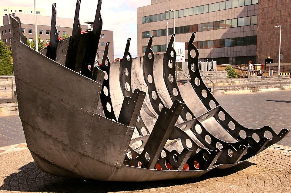 Sculpture, Steel, Metal, Architecture, Statue, Tourism