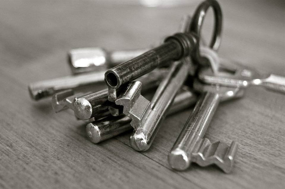 Key, Metal, House, Security, Wedding, Entry, Door