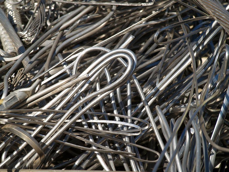 Textura, Metal, Wire, Rods