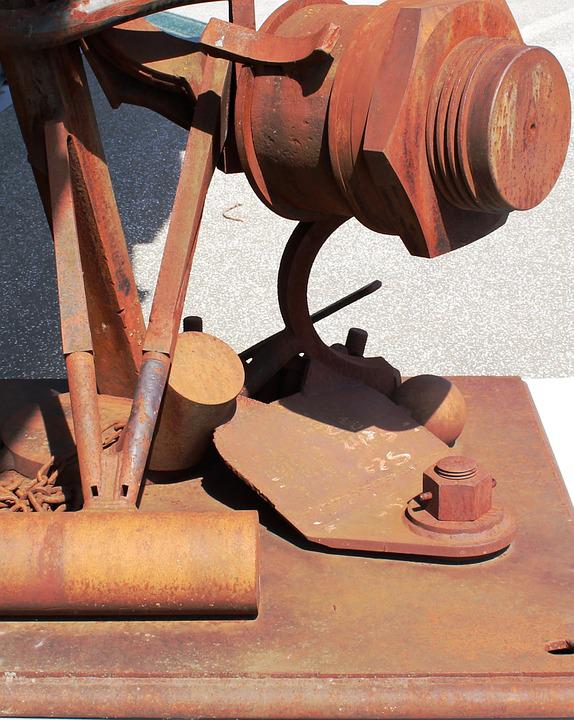 Metal, Sculpture, Screw, Tool, Stainless