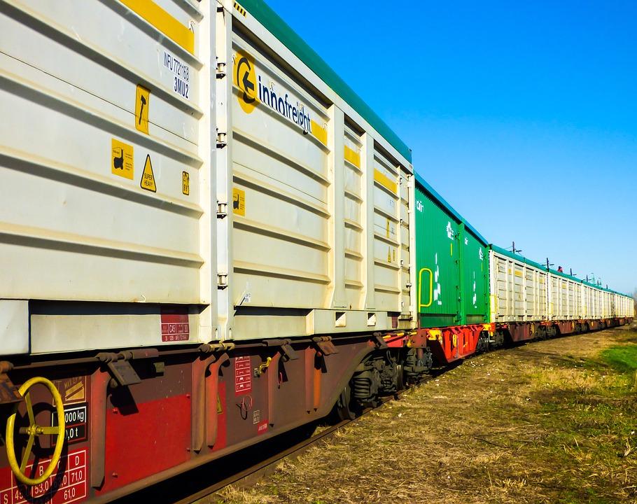 Rail, Train, Transport, Tracks, Station, Yellow, Metal