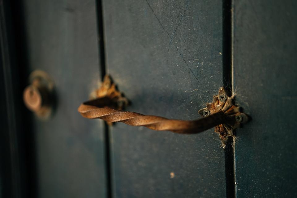 Door, Key Hole, Wood, Input, Security, Metal, Rust