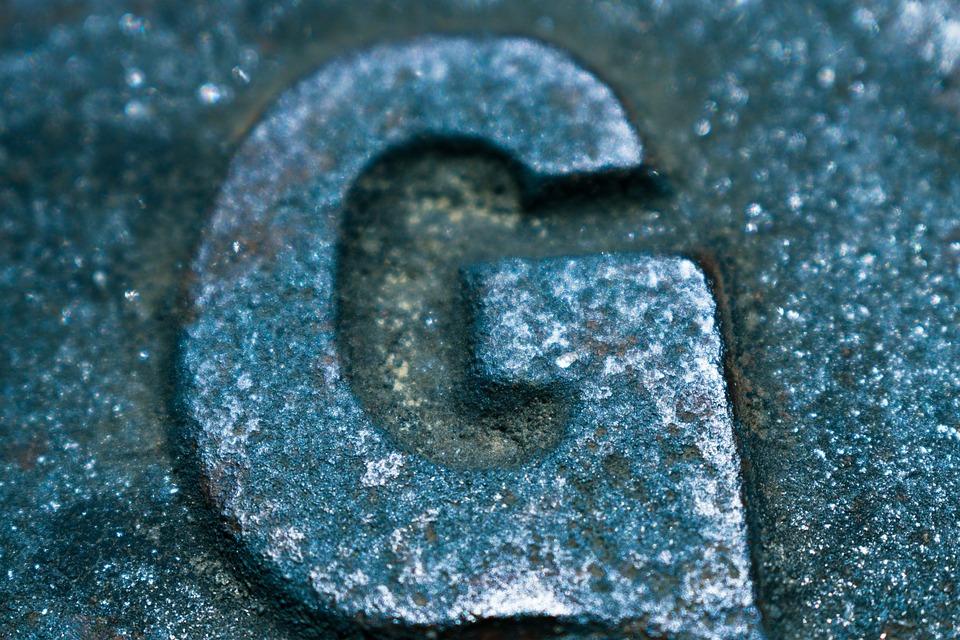 Metal, Typography, Metallic, Old, Alphabet