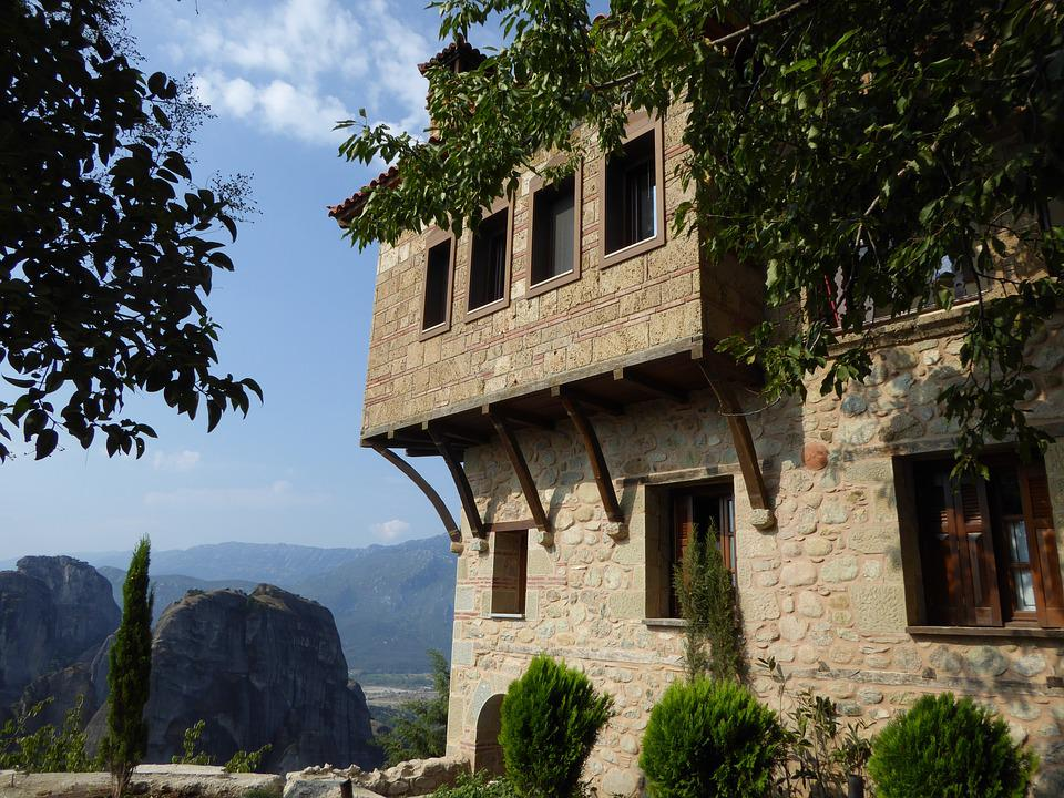Monastery, Meteora, Greece, Building