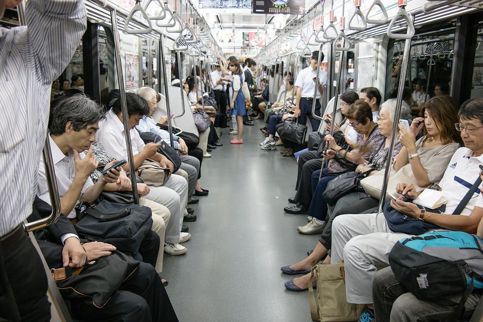 Tokyo, Asia, Japan, Human, Metro, City, Urban