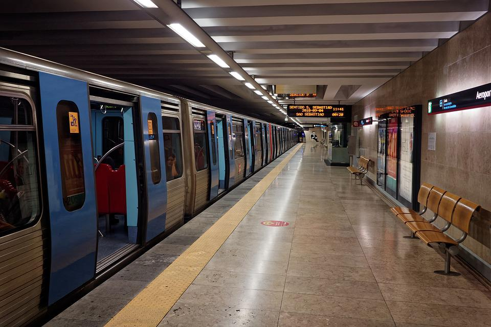Lisbon, Portugal, Metro, Transport