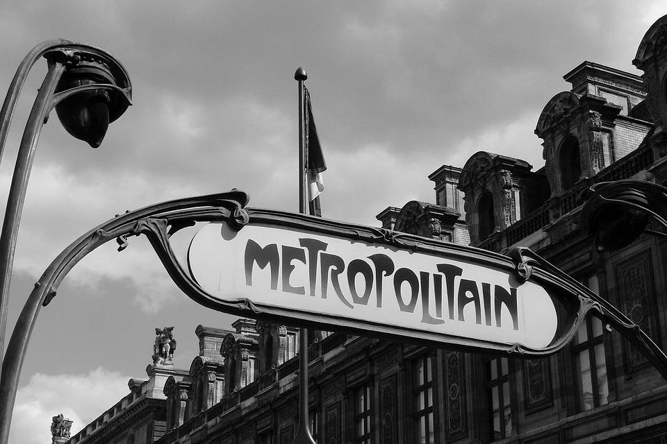 Paris, Metro, Metro Station, Shield, Input