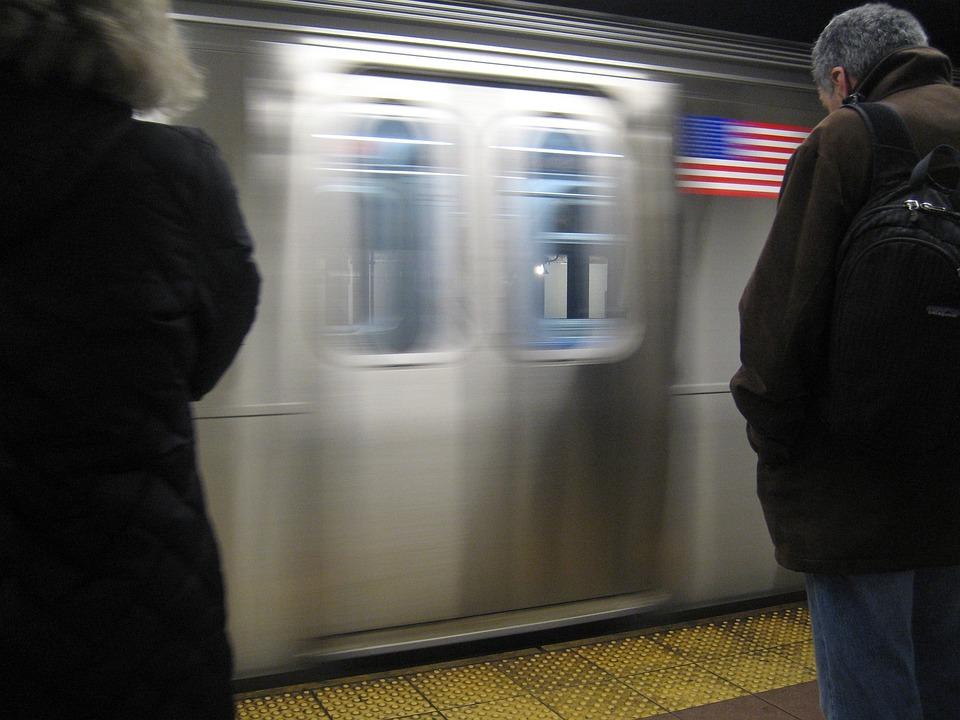 Metro, New York, Usa, Tube