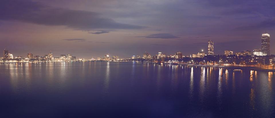 Skyline, Cityscape, City, City Lights, Buildings, Metro