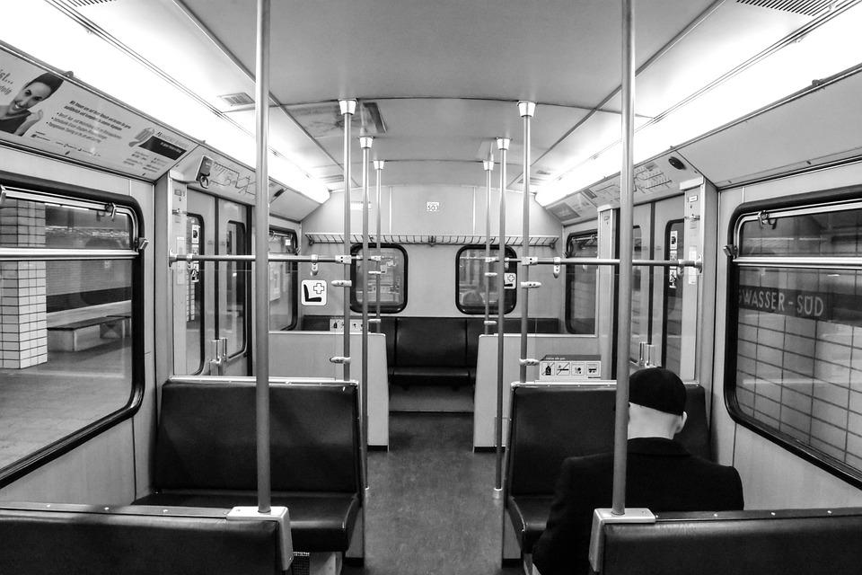 Train, Wagon, Metro, Retro, Station