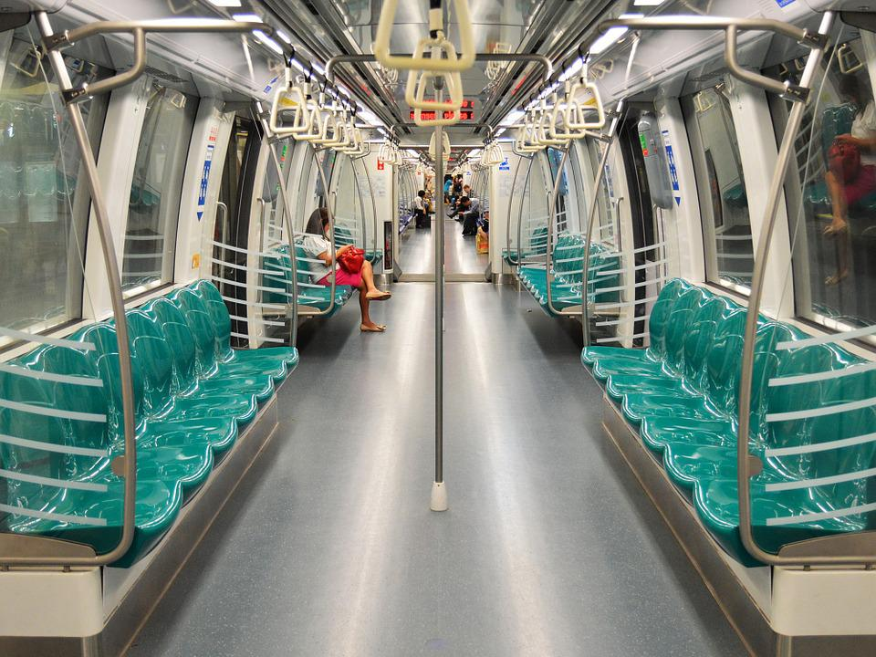 Metro, Wagon, Car, Interior, Seats, Modern, Subway