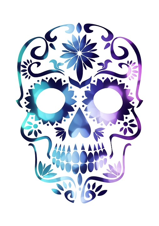 free photo mexican skull mexico sugar skull colorful max pixel