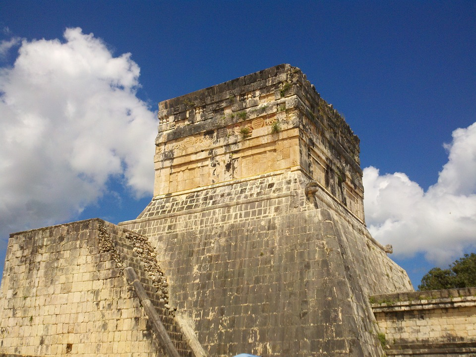 Yucatan, Mexico, Ancient, Architecture