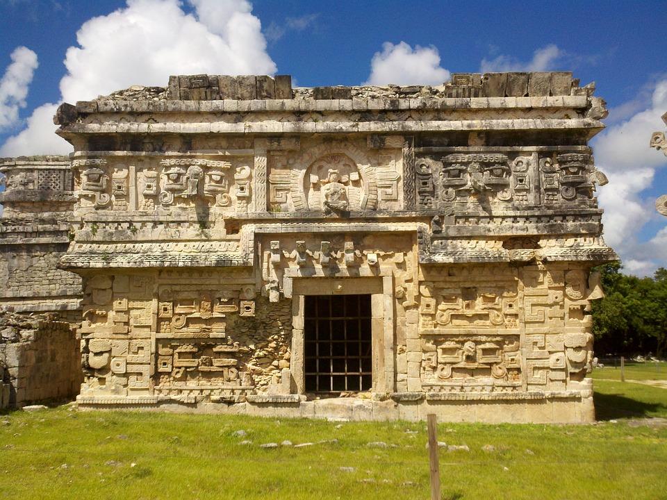 Yucatan, Mexico, Ancient, Architecture