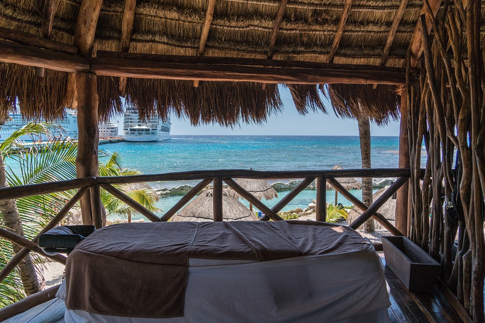 Massage Therapy, Ocean View, Sea Side, Coast, Mexico
