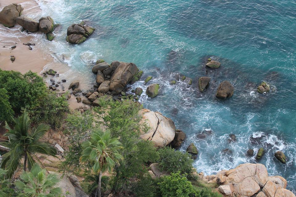 Acapulco, Beach, Mexico, Landscape
