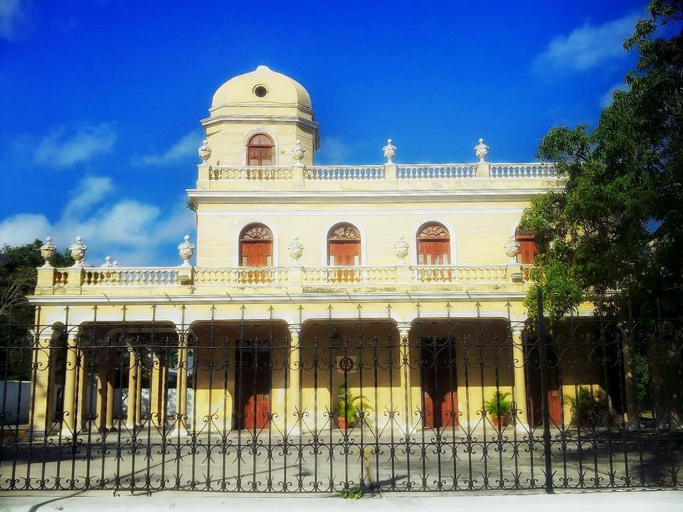 Merida, Yucatan, Mexico, Palace, Landmark, Historic