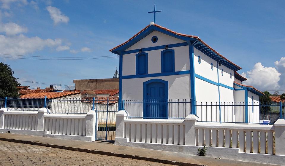 Chapel Old, St John The Baptist Of Glory, Mg, Brazil